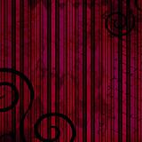 Dark grunge background in red, pink and black with swirls