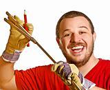 handyman and work  instrument
