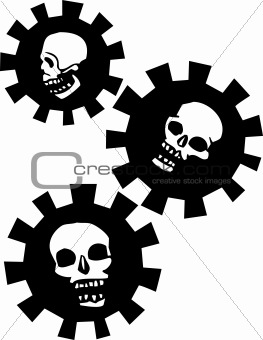 Three Gear Skull