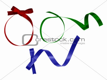 3colorful ribbon