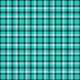 Blue textured plaid