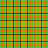 Colorful textured plaid
