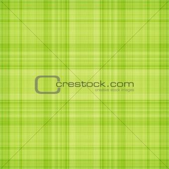 Green textured plaid