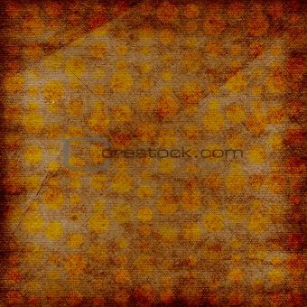 Grunge doted background