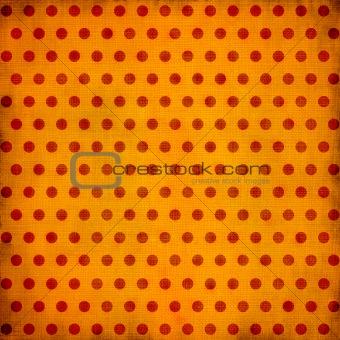 Grunge dotted background
