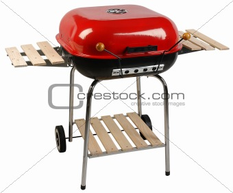 Grill. Clipping path