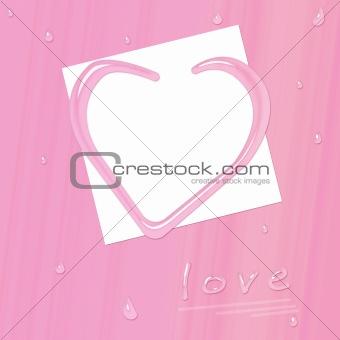 Valentine romantic layout