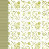 Olive green retro grunge background