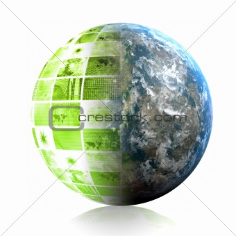 Green Global Business Technology Abstract