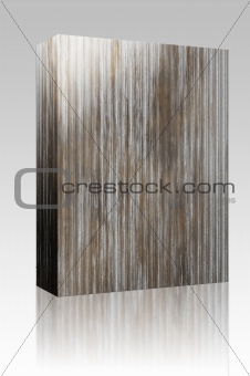 Corrugated metal box package
