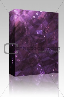 Crystal texture box package