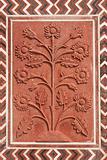 Ornate Stonework At The Taj Mahal