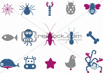 Animals Icon Set