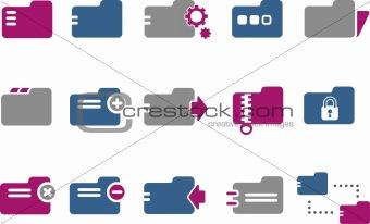 Folders Icon Set