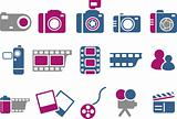 Photo icon set