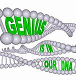 Genius is in Our DNA