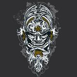 Wicked Mask Vector Design