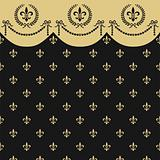 Empire seamless pattern