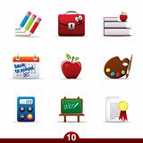 Icon series - education