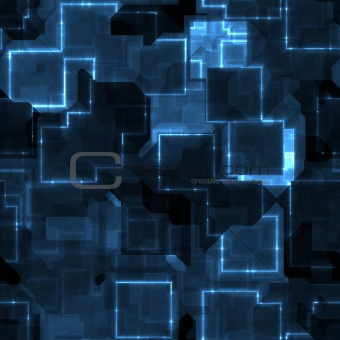 blue circuitry