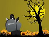 illustration, halloween background series5, design7