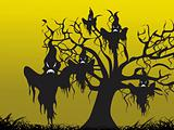 illustration, halloween background series5, design8