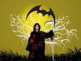 illustration, halloween background series5, design9