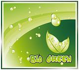 Bio Green Background