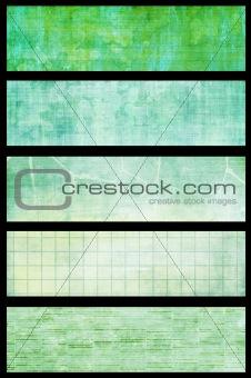 Green Grunge Vintage Textures