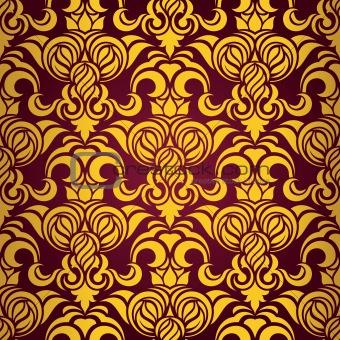 Red seamless wallpaper