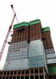Construction of new skyscraper
