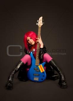 Sexy rock girl