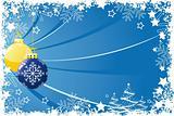 Grunge Christmas balls