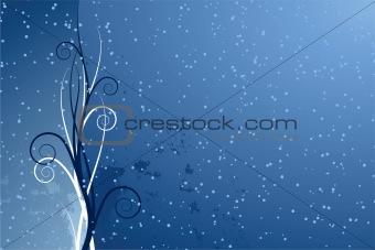Abstract seasonal background