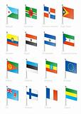 Flag icon set (part 4)