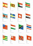Flag icon set (part 11)