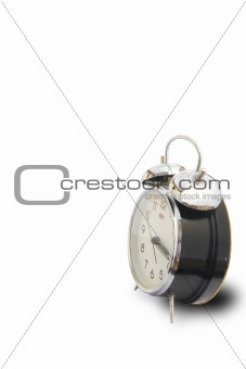 Time concept isolated