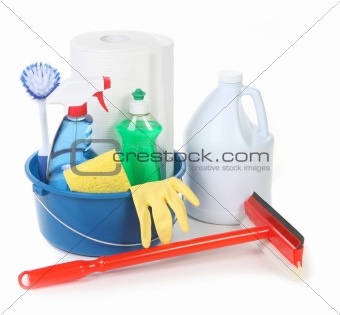 Cleaning Supplies for Around the House