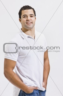 Attractive Man Posing