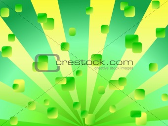 abstract background in green