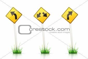 Road Sign – Warning