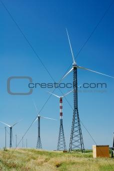 Prarie windmills
