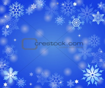 abstract background ice crystals
