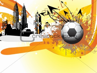 abstract ball background, vector illustration