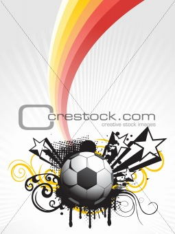 abstract vector football background