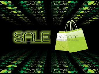 green vector, floral bags for sale upto 50% off