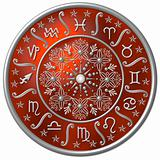 Zodiac Disc red