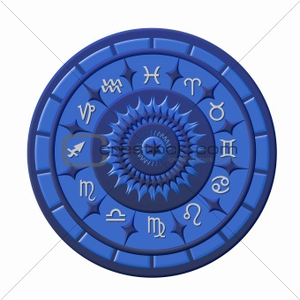 Zodiac Disc blue