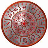 Zodiac Disc silver