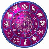 Zodiac Disc purple